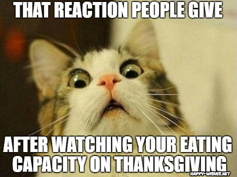 Happy Thanksgiving meme with meme images