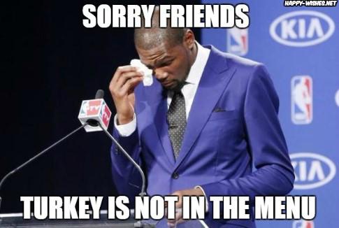 Happy Thanksgiving turkey Memes