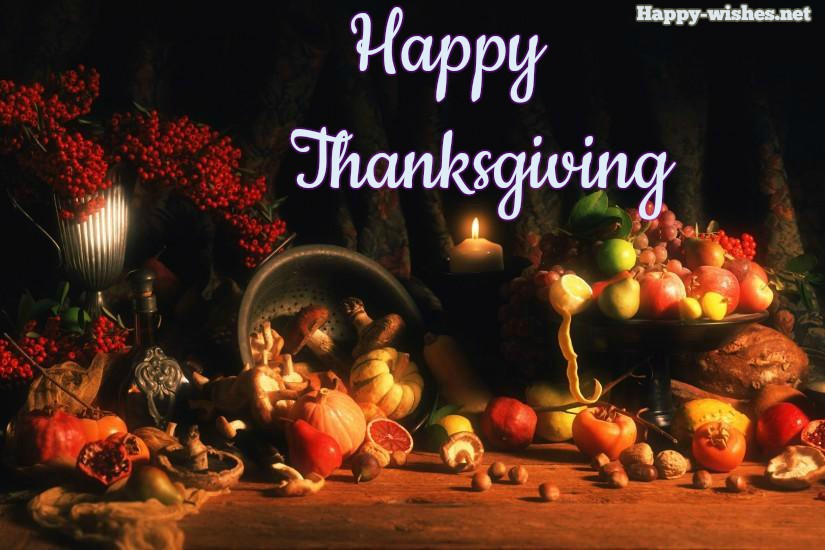 Happy Thanksgiving wishes and images