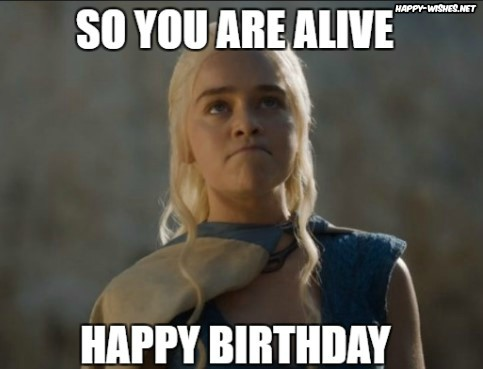 Happy birthday game of thrones