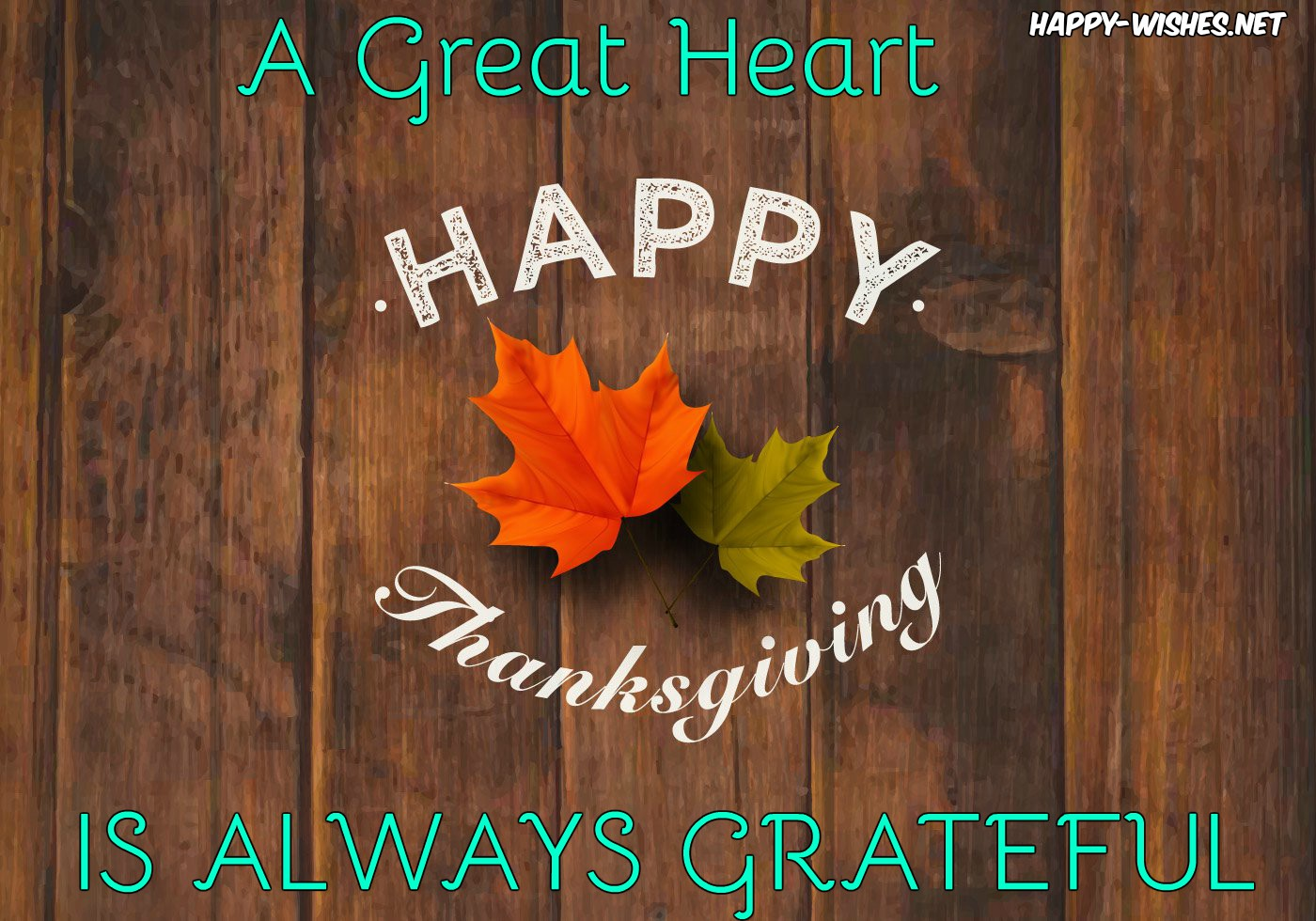 Happy thanksgiving quotes for grateful people