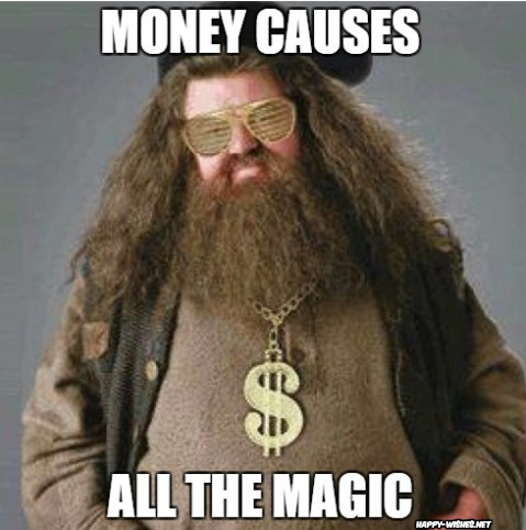 Harry potter meme with rubious hegrid