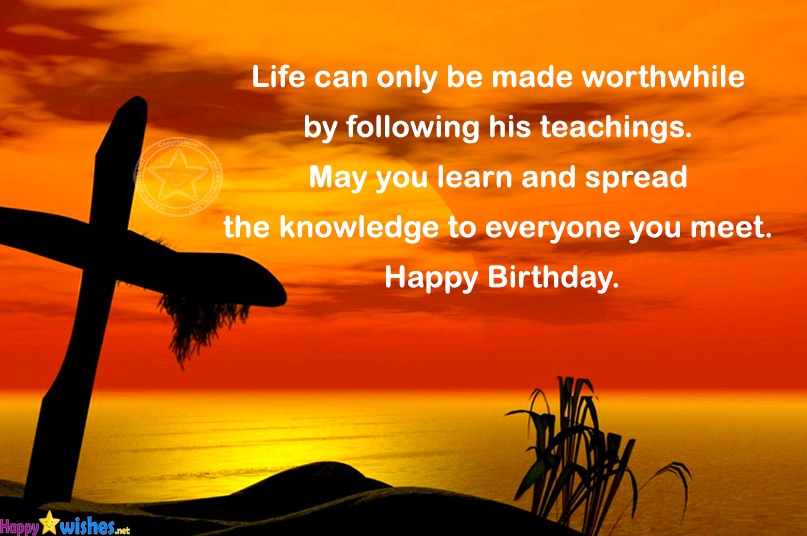 Christian Birthday Wishes Religious Quotes