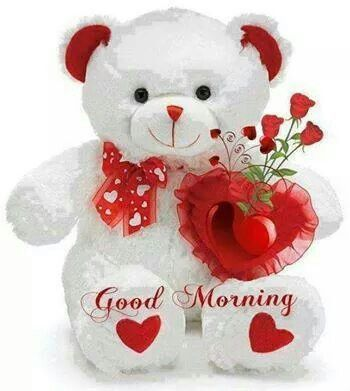 Lovely Teddy Wishing Good Morning