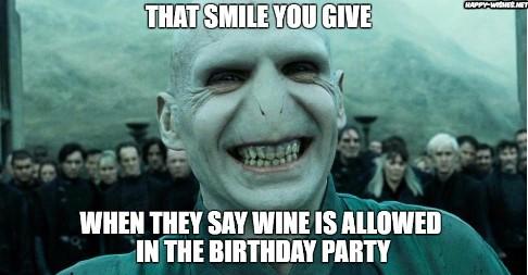 Nice Happy Birthday Voldemort happy birthday memes