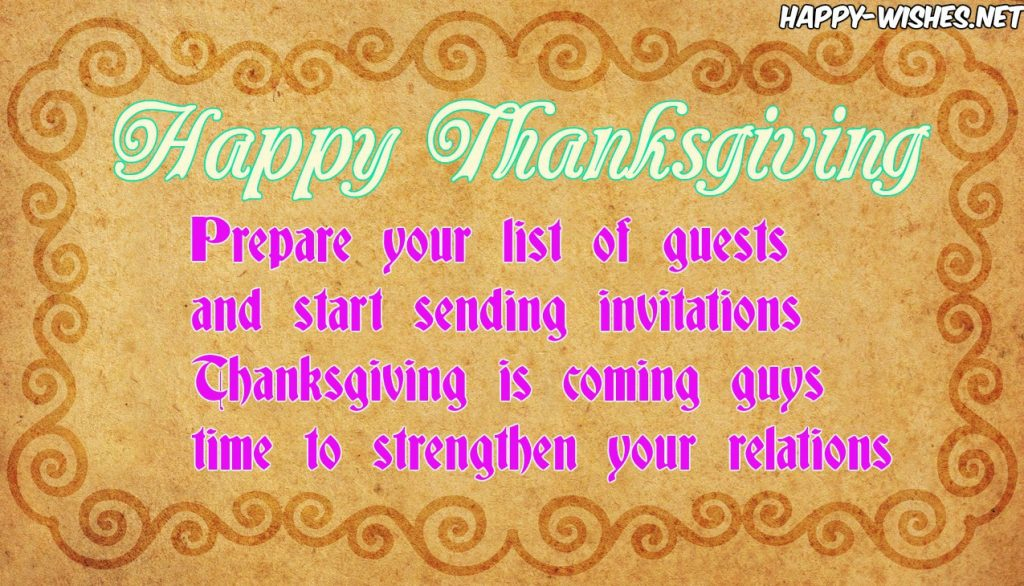 Nice Happy thanksgiving quotes