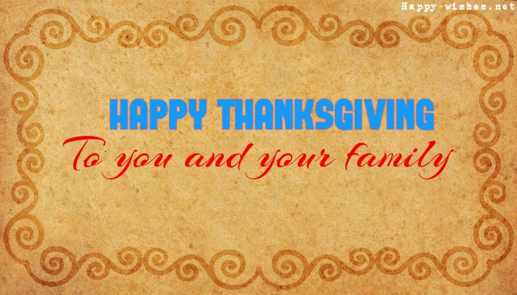 Nice Happy thanksgiving wishes