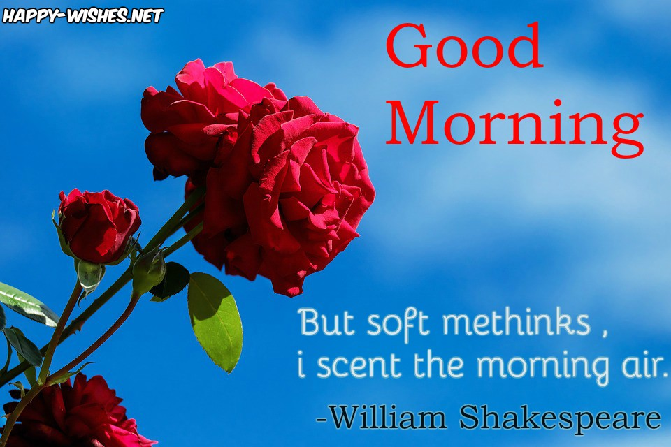 Romantic Good Morning quotes with Good Morning quotes
