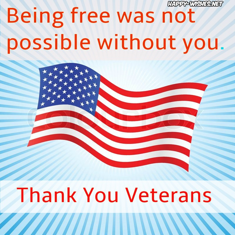 Thank you veterans on vetran day images