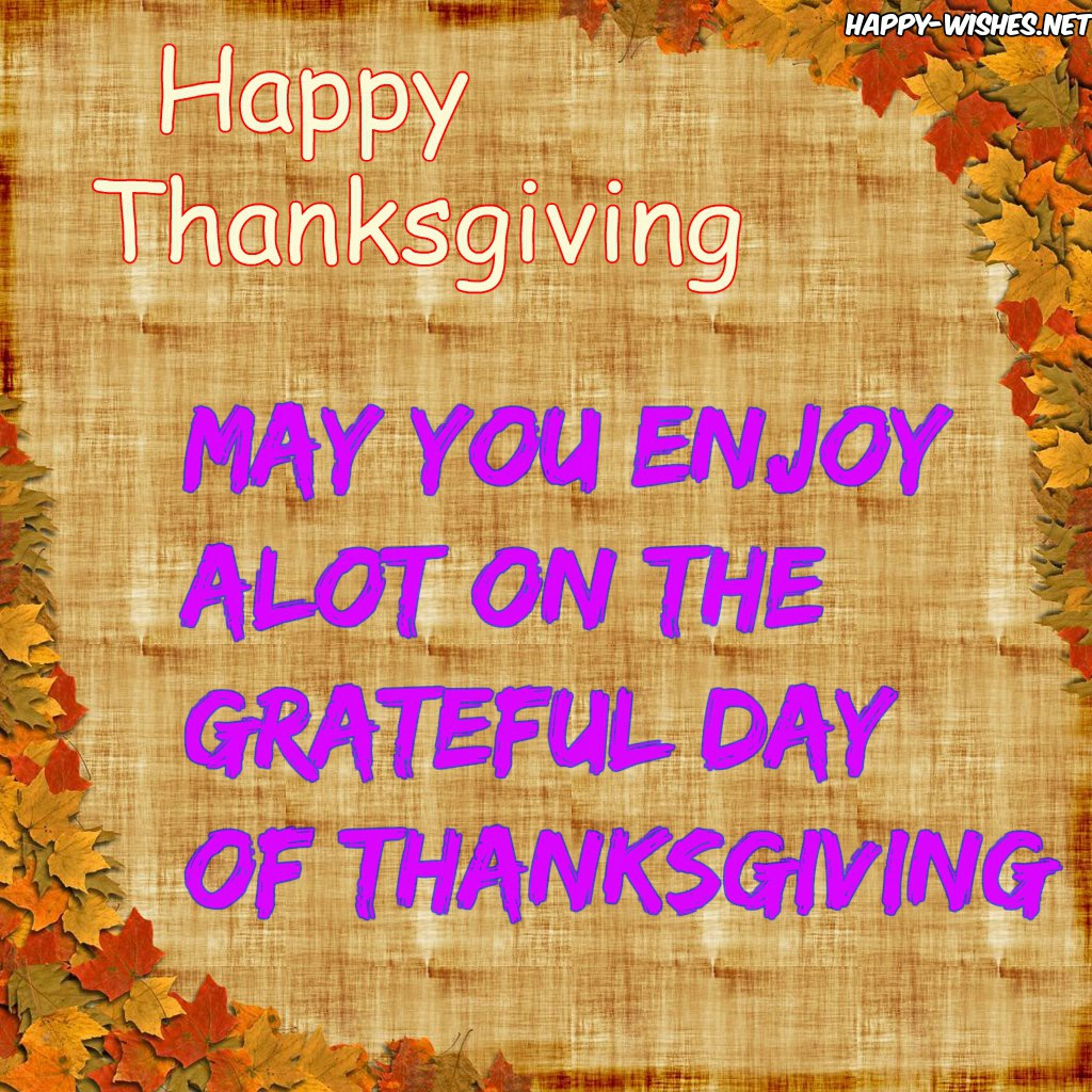Happy Thanksgiving Wishes For Everyone - Messages, Quotes