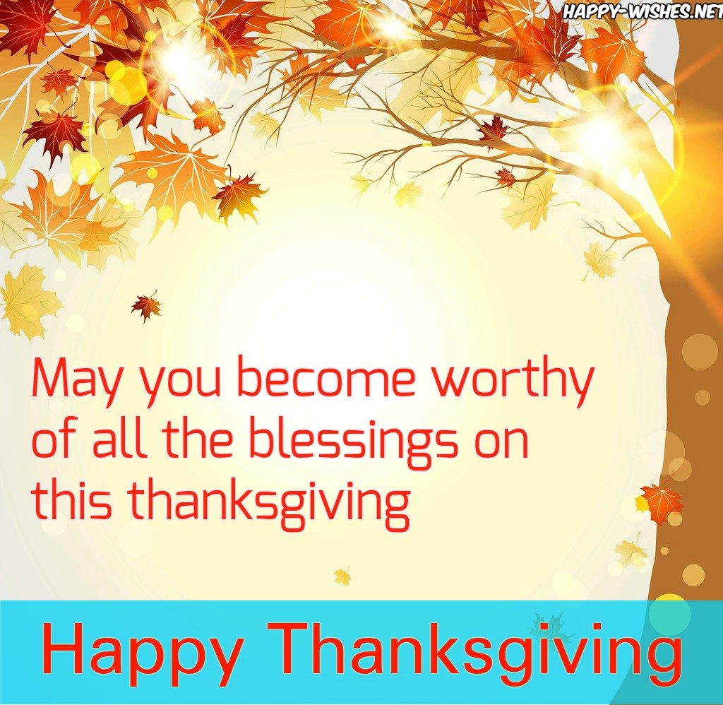 Thanksgiving greetings for everyone