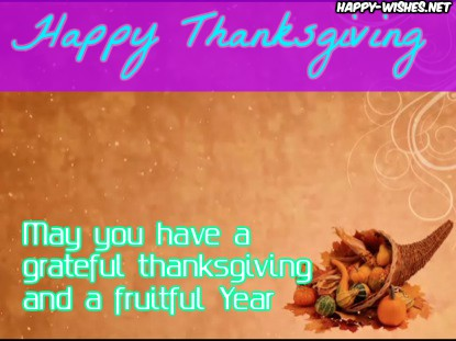 Thanksgiving wishes for everyone best wishes