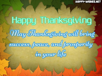Thanksgiving wishes for everyone in the world