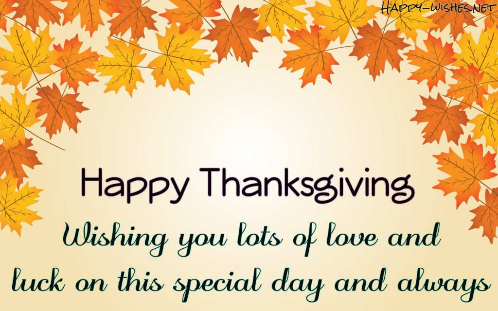 Thanksgiving wishes for everyone quotes
