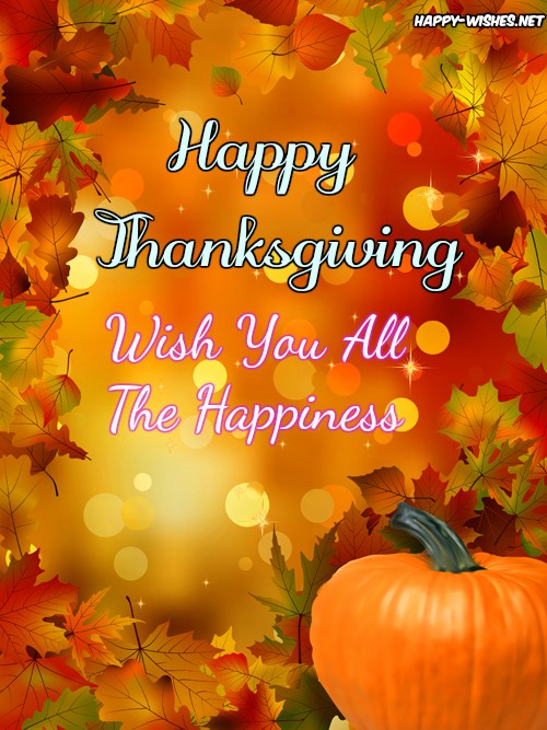 Thanksgiving wishes for everyone wishes