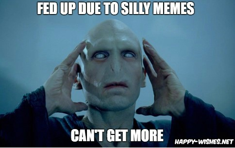 Voldemort in Harry Potter memes