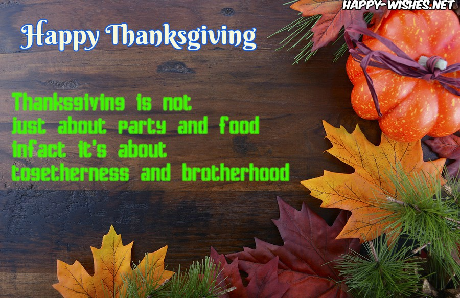cool thanksgiving quotes