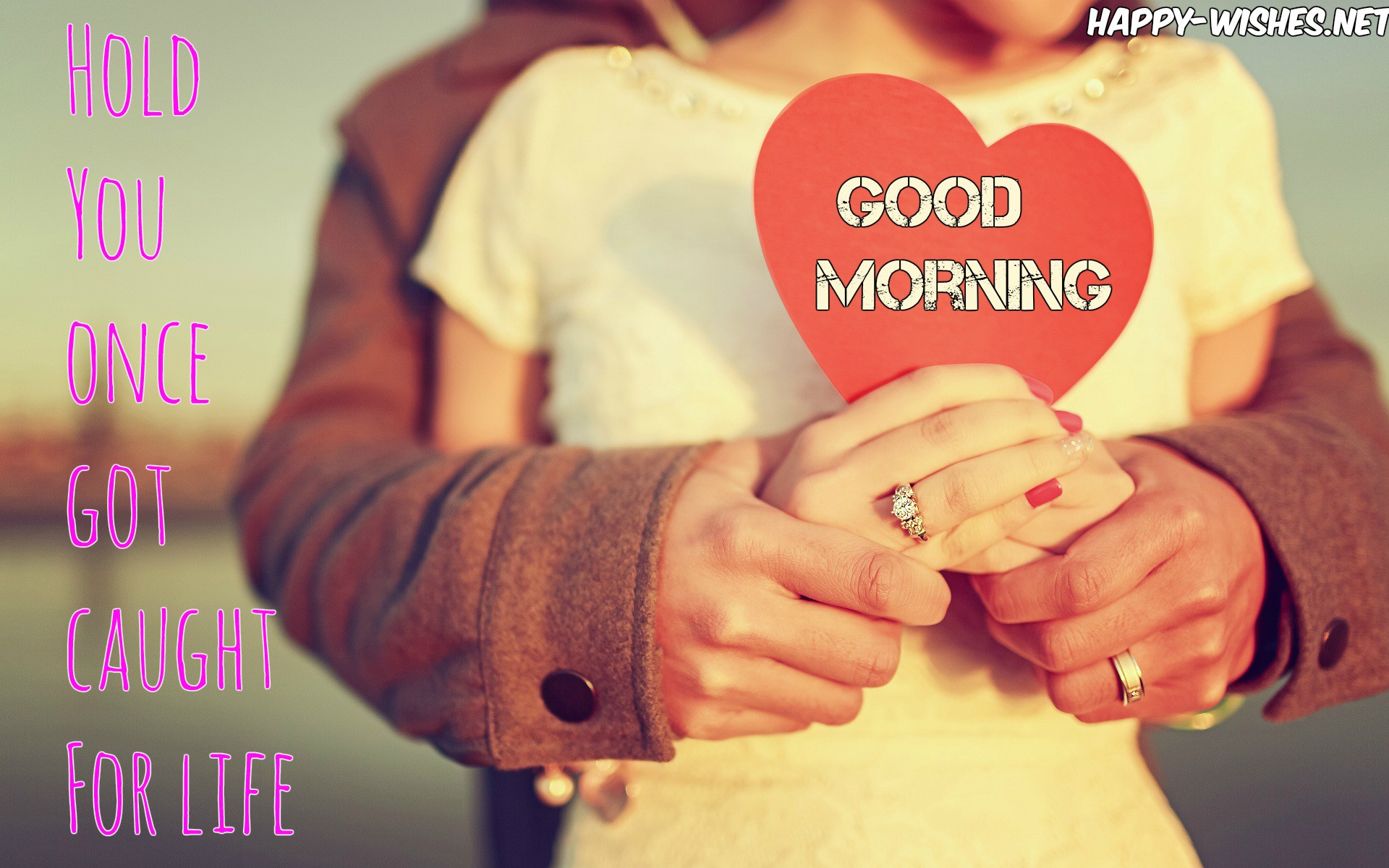 couple love good morning wishes