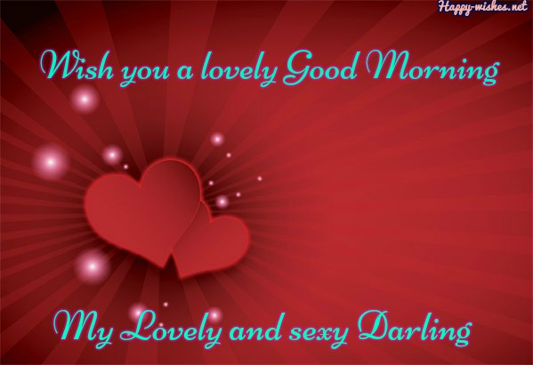 cute lovely Good Morning wishes to the most beautiful girl in the world