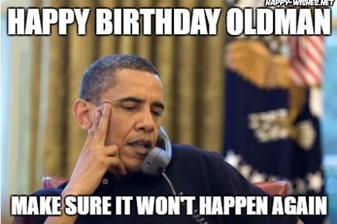 happy birthday old man meme images