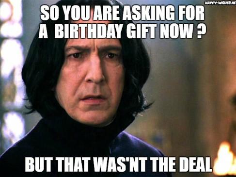 harry potter funny birthday meme Severus-Snape-meme