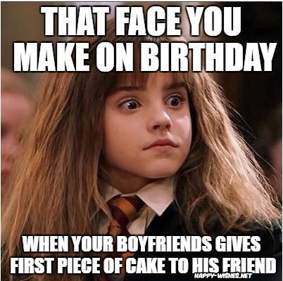 harry potter funny birthday meme hermione memes