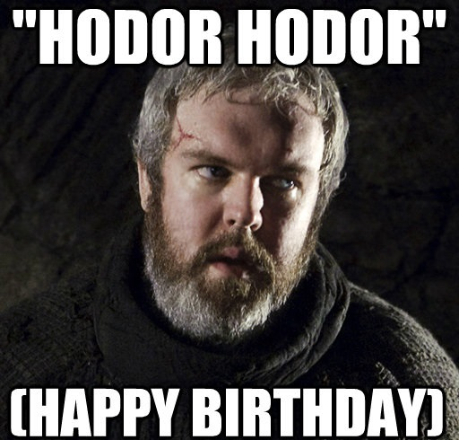 26+ Game of Thrones Birthday Meme Wishes