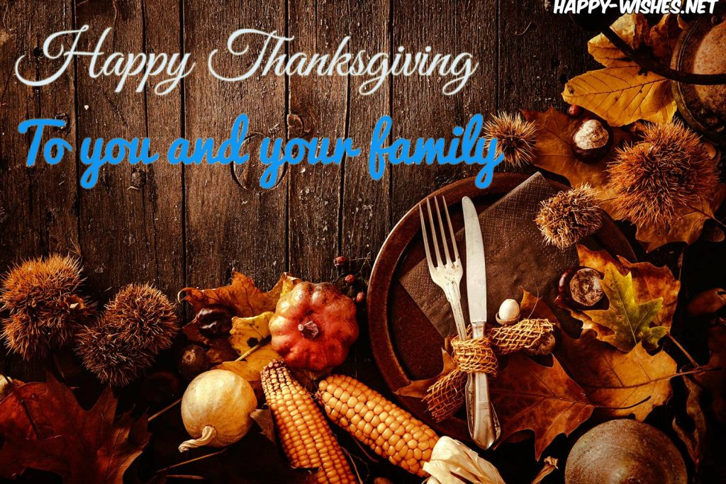 nice happy thanksgiving to you and your family