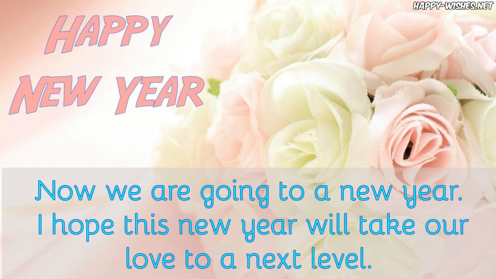 Best Happy New Year wishes for the wife