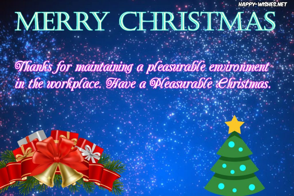 Best Merry Christmas Wishes for Colleague
