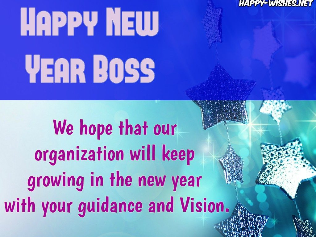 Best New Year Wish with the Boss