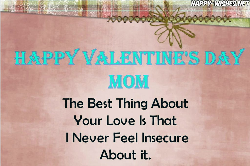 Best Valentine's Day Quotes for mom