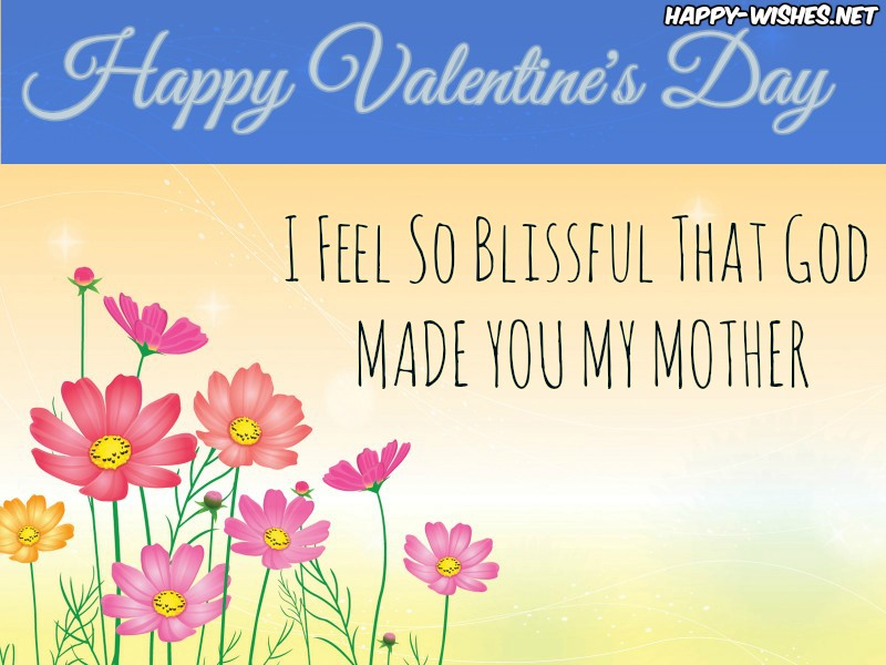 Best Valentine's Day Wishes for mommy