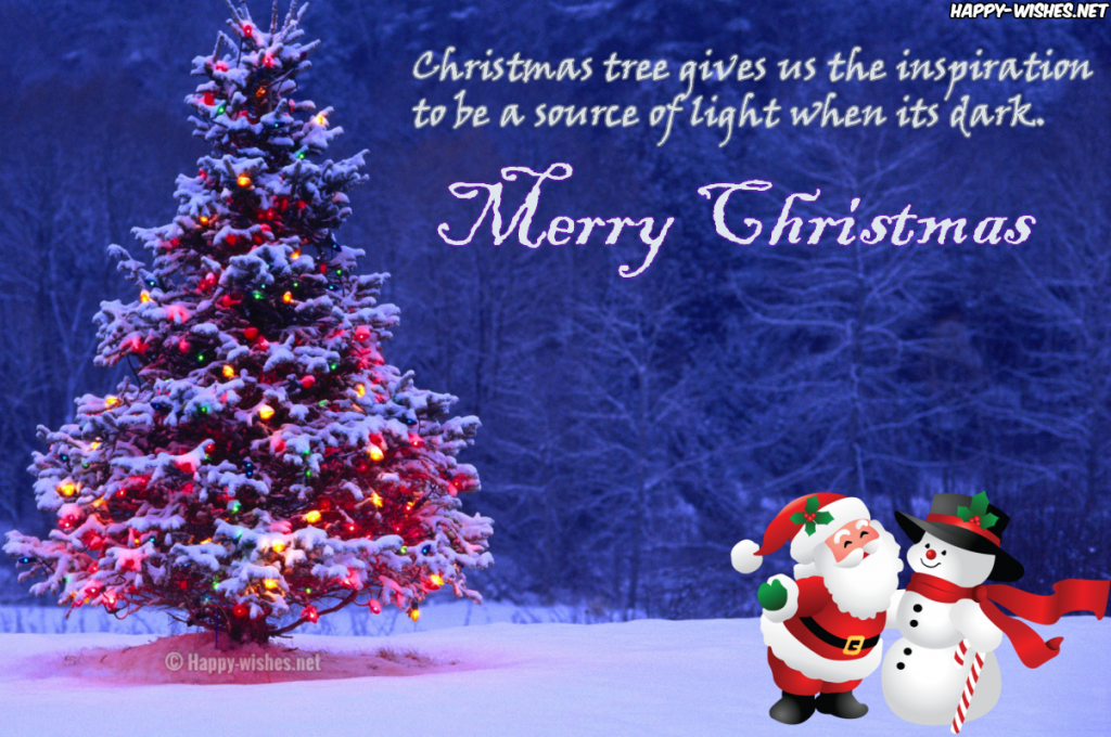 Best quotes on Christmas tree