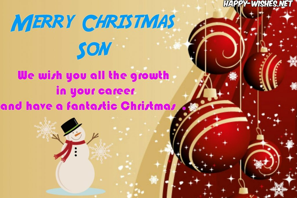 Best wishes for the Christmas
