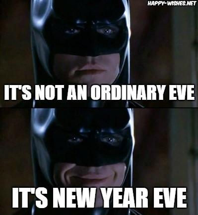 Happy New Year Batman meme