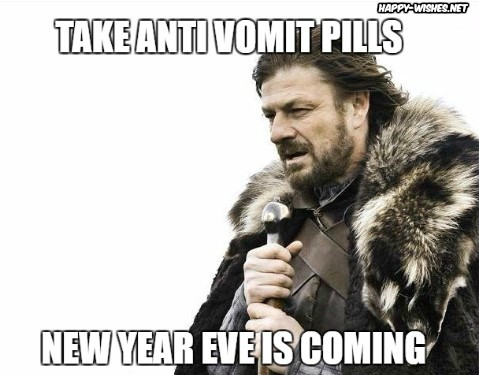 Happy new year meme using game of thrones charecters