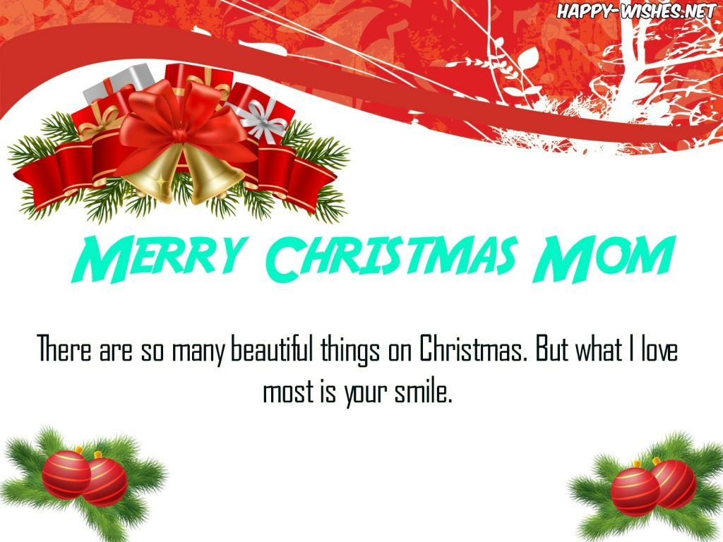 Christmas Message For Mom.Merry Christmas Wishes For Mom Quotes Messages