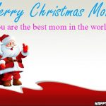 Merry Christmas Quotes For mom.