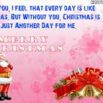 Merry Christmas Wishes For Boyfriends