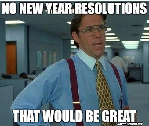No new year celebrations memes