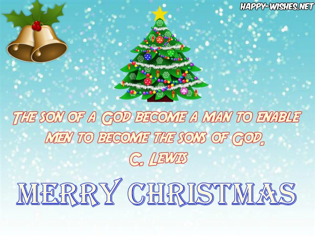 Religious quotes for the christmas