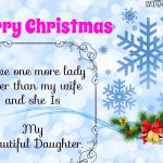 The Best Christmas Wishes for Daughter