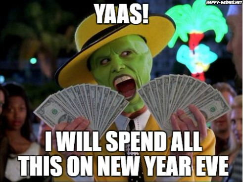 The Mask Happy new year memes