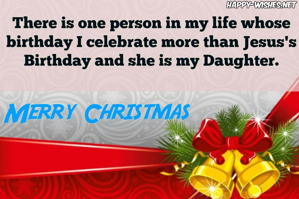 best Christmas messages for daughter