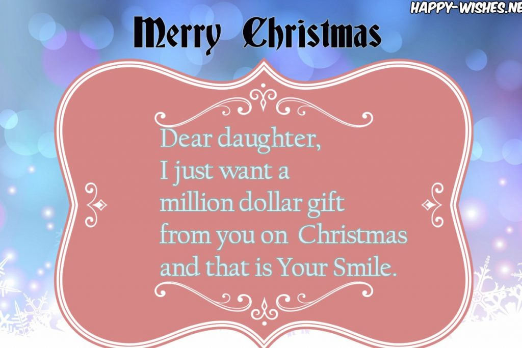 best Christmas quotes for daughter