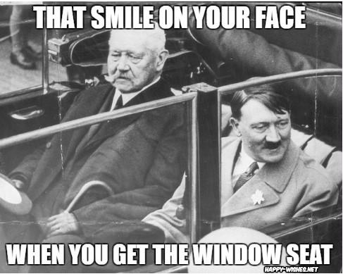 hitler smiles meme
