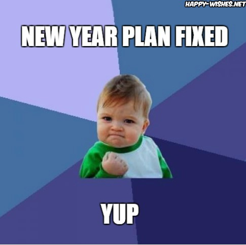 kid new year memes