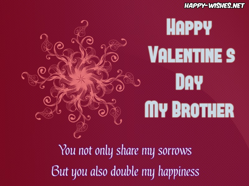 Best Happy Valentine's Day Wishes Brother - Copy