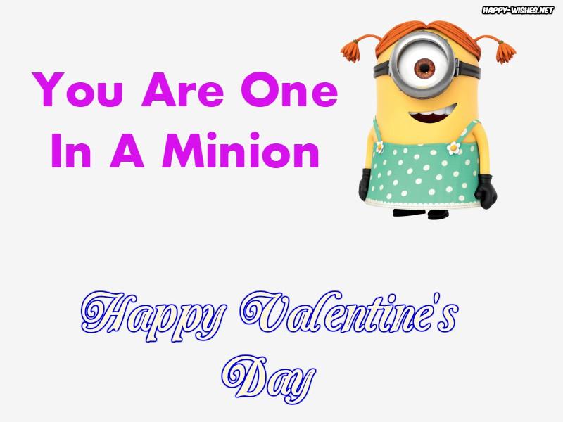 Best Happy Valentine's day Minion Photos
